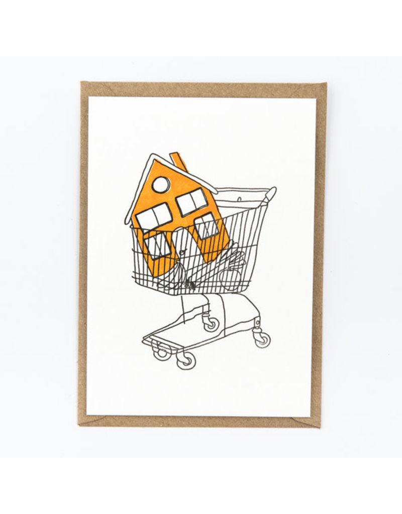 STUDIOFLASH Kaart 'you bought a house'