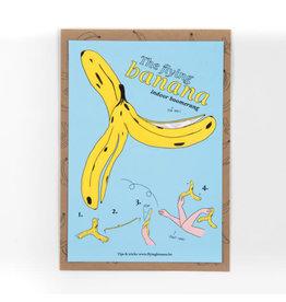 STUDIOFLASH Kaart 'Flying Banana'