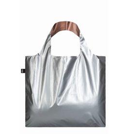 abodee Duo Bag Metallic - zilver/roze