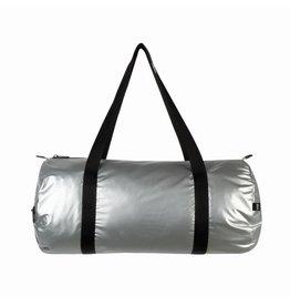 Loqi Weekender Metallic-zilver/roze