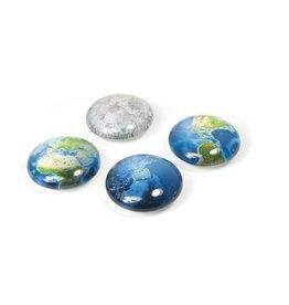 Trendform Magneten oog - Planet - 4 st