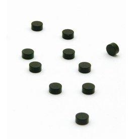 abodee Magneten Steely - 10 st - zwart