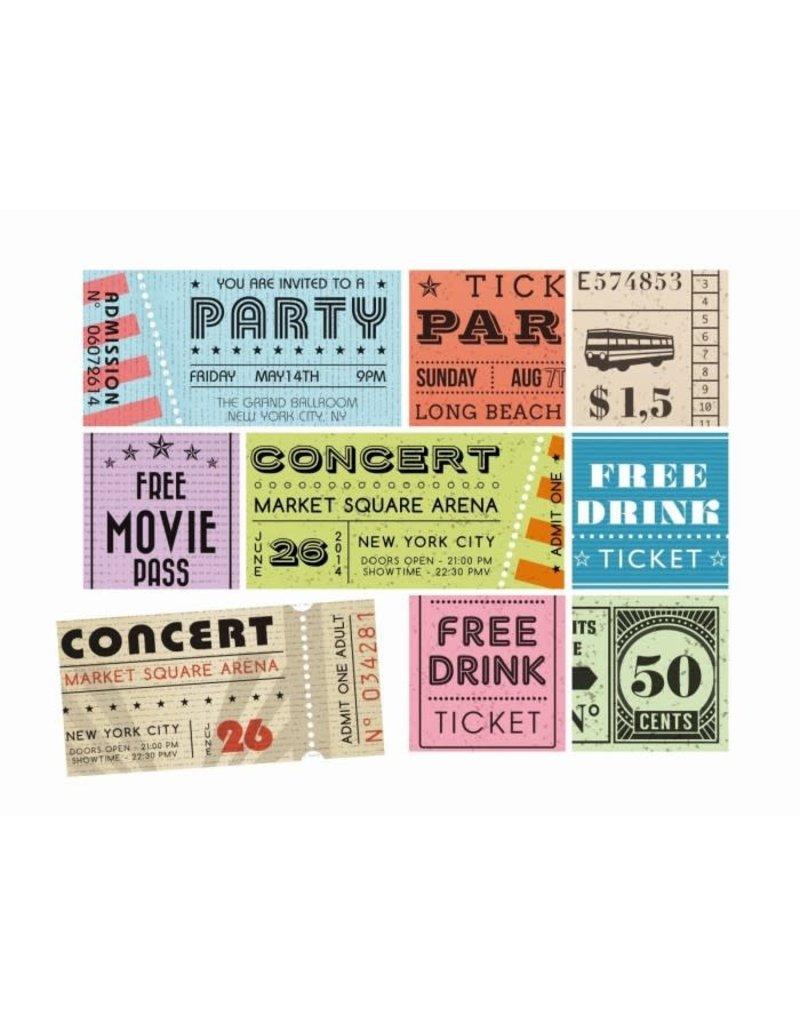 Trendform Magneten Box - Ticket - 9 st