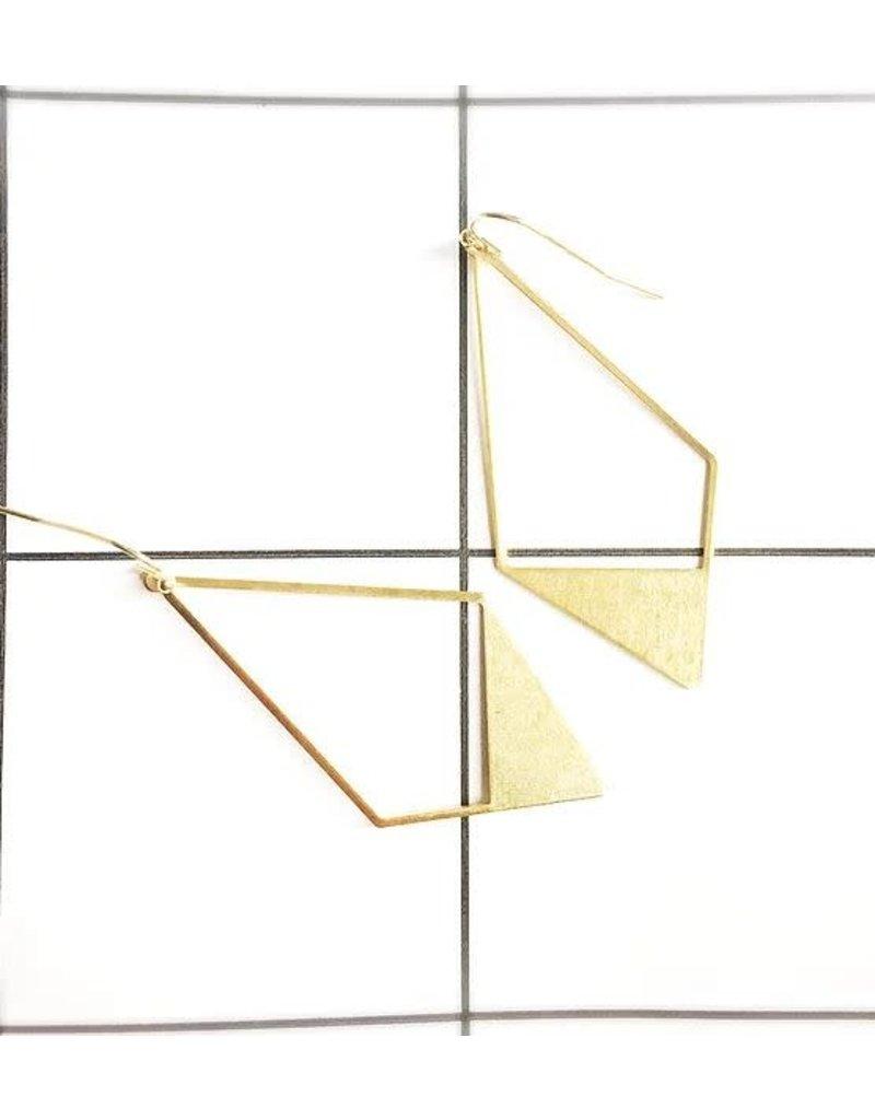 STUDIO PELOEZE Oorbellen Boho diamond