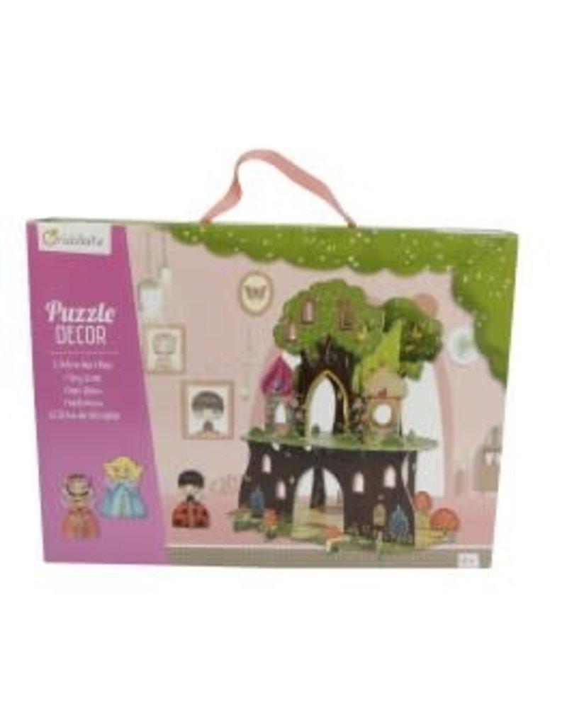 choubidous 3D scene puzzles, Fairy tree