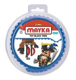 ZURU-MAYKA Zuru-Mayka Block Tape 2 studs 1m Blue