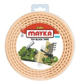ZURU-MAYKA Block Tape 2 studs 2m Sand Yellow