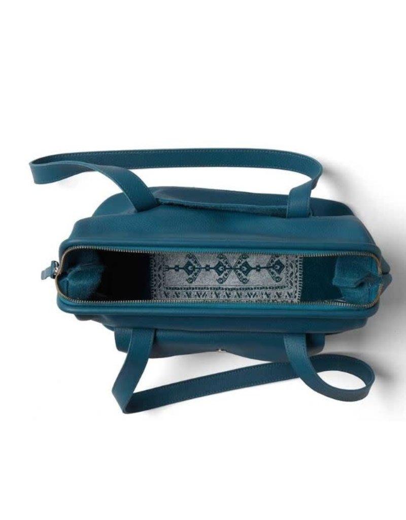 KEECIE Handtas Room Service faded blue