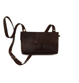 KEECIE Tas - Clutch Monkey Tree dark brown