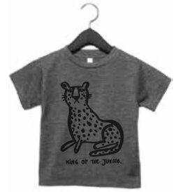 Studioloco T-shirt Leopard grijs
