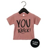 Studioloco T-shirt You rock old roze