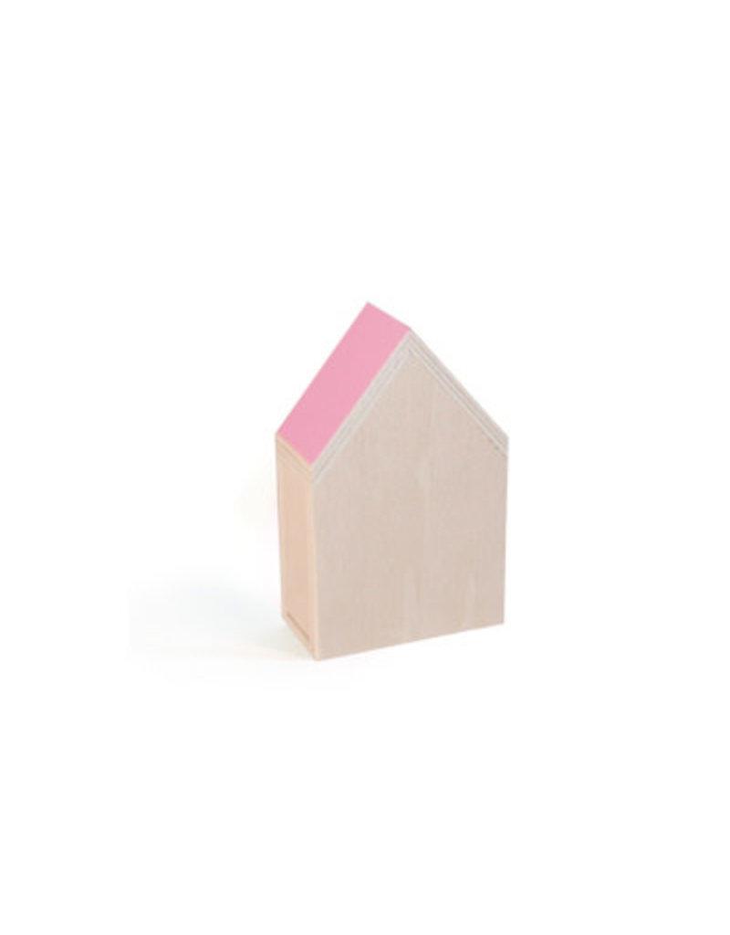 Vanhalst N+ Huisje Flamingo 12x19,2x6,5 cm