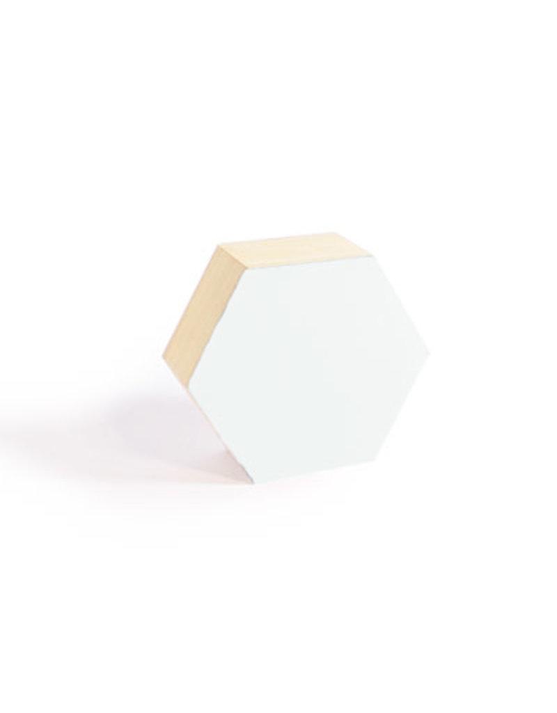 Vanhalst N+ 6-hoekig doosje small wit 8x7x3 cm
