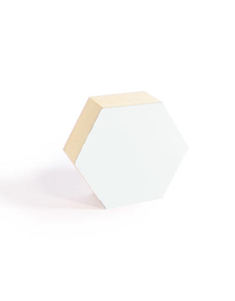 Vanhalst N+ 6-hoekig doosje large wit 16x14,8x6,5 cm