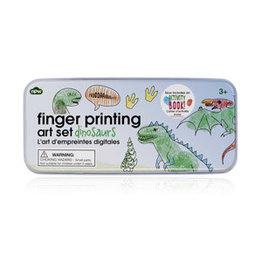CORTINA Finger Printing Art Set - Dinosaurs
