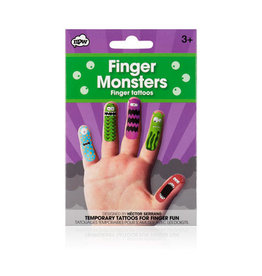 CORTINA Finger Tattoos Monsters