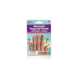 CORTINA Fingernail Friends Zeemeermin Tattoos