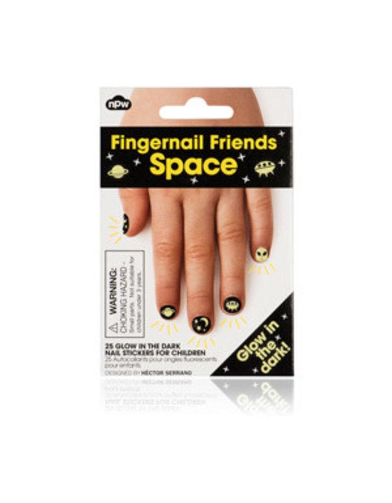 CORTINA Fingernail Friends Space - Glow in the dark