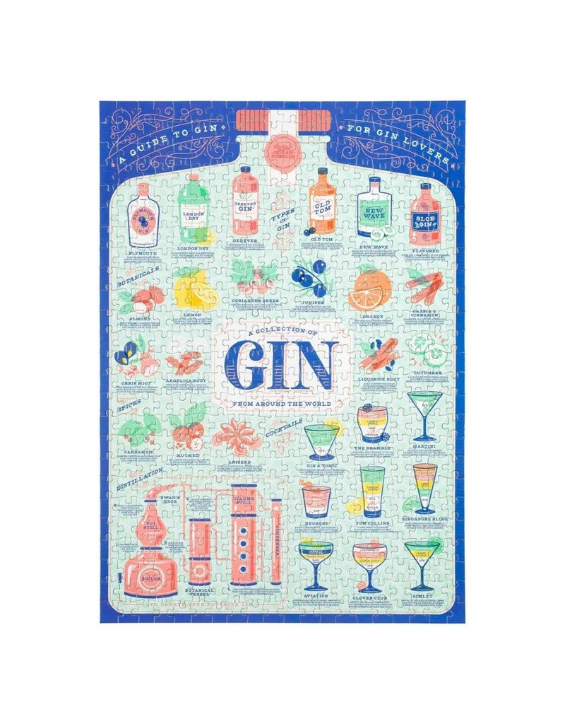 CORTINA Gin Lover's puzzel 500 stukken
