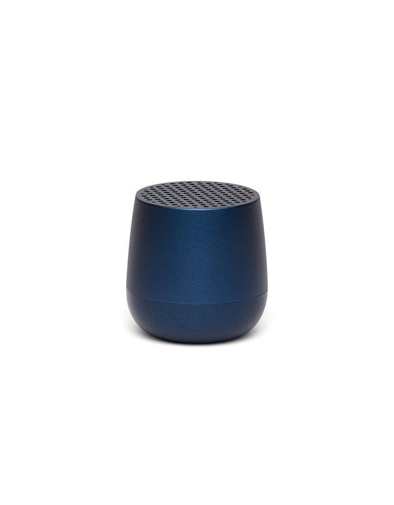 LEXON MINO Mini rechargeable Bluetooth speaker-3W - donkerblauw