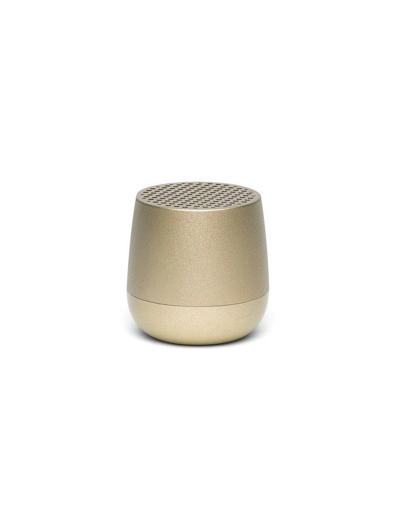 LEXON MINO Mini rechargeable Bluetooth speaker-3W - goud