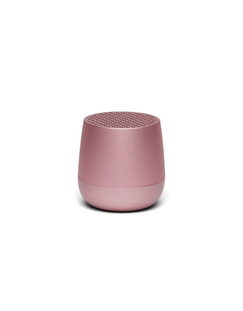 LEXON MINO Mini rechargeable Bluetooth speaker-3W - roze