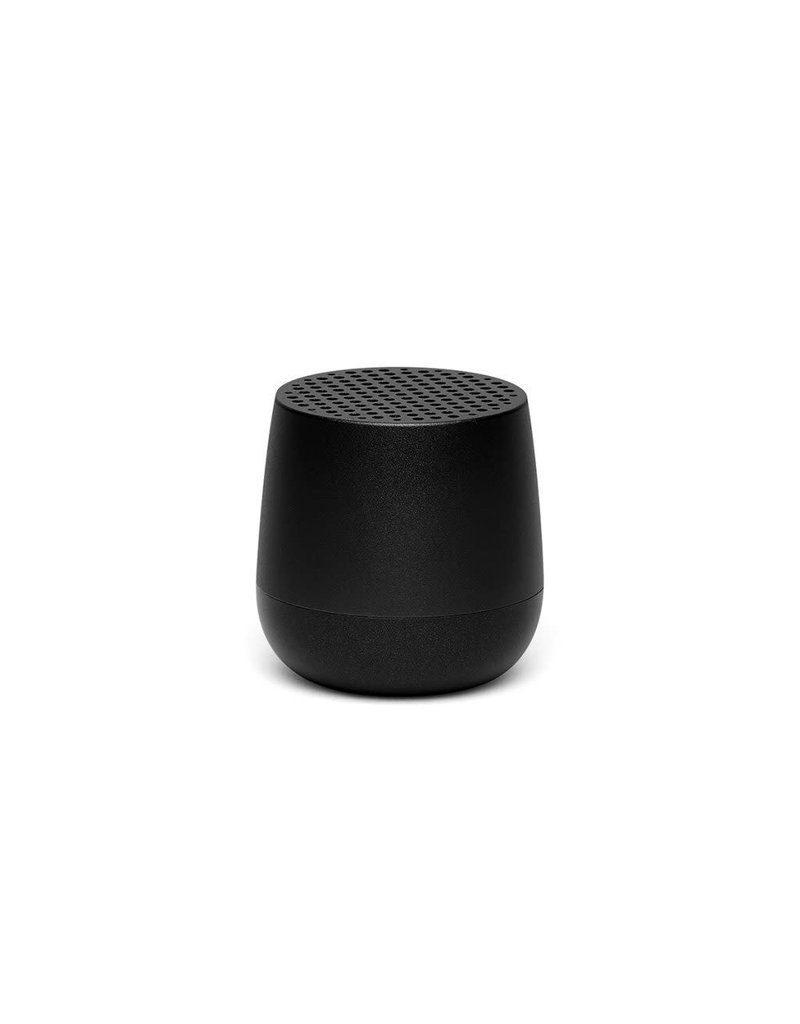 LEXON MINO Mini rechargeable Bluetooth speaker-3W - zwart