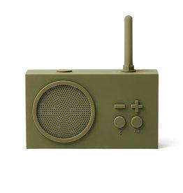LEXON TYKHO 3 FM radio - 5W BT speaker - kakigroen