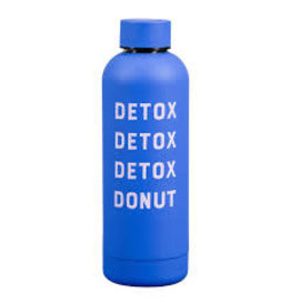 CORTINA Drinkfles warm-koud 'Detox donut'