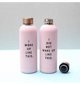 Wild & Wolf Drinkfles warm-koud- 'I Did Not'