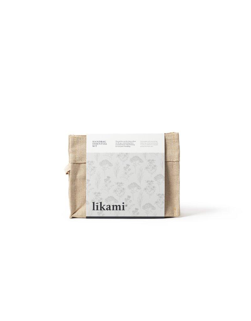 Likami Handbag Essential Kit (toiletbag with hand cream 100ml / facial toner 30 ml / lip balm 15ml)