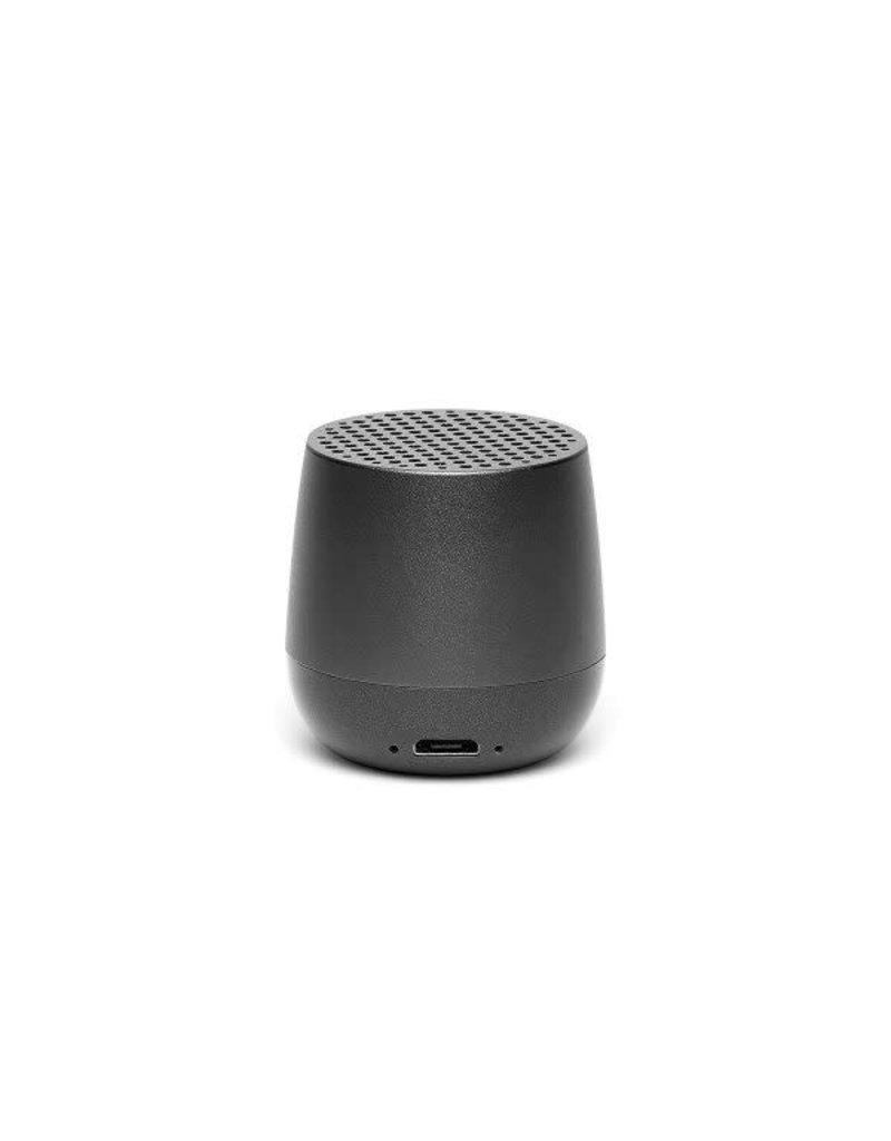 LEXON MINO Mini rechargeable Bluetooth speaker-3W - donkergrijs