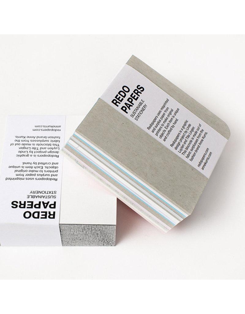 REDO PAPERS Blocnote 9x9x3 cm