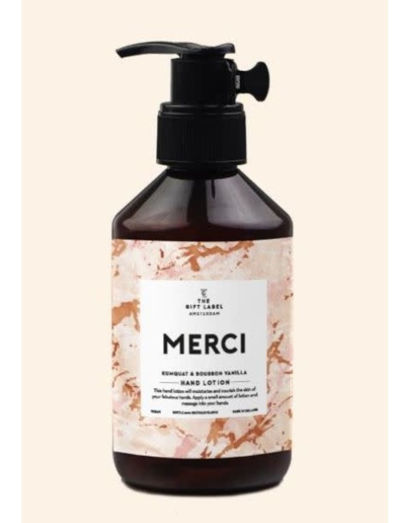 The Gift Label Hand lotion - Merci - 250 ml