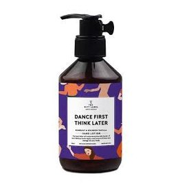 The Gift Label Hand lotion - Dance first think later - 250 ml