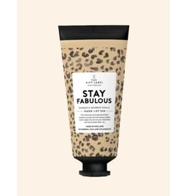 The Gift Label Hand lotion tube - Stay fabulous