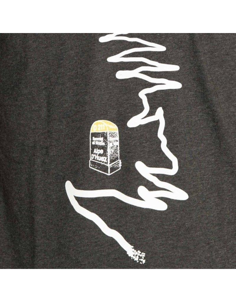 THE VANDAL Alpe D'Huez T-Shirt - Donker grijs