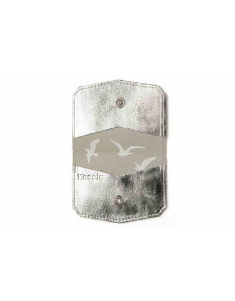 KEECIE Pashouder Wild Card, Silver 10,5 x 8 cm