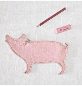 KEECIE Etui Piggy Bank, Soft Pink