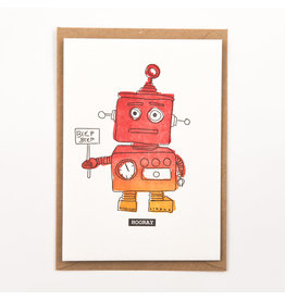 STUDIOFLASH Kaart 'beep beep hooray'