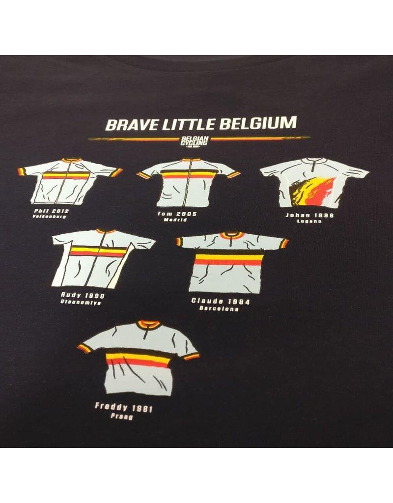 THE VANDAL Belgian Cycling shirt - Brave litte Belgium