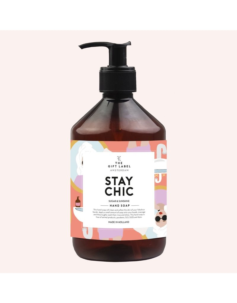The Gift Label Hand Soap - Stay chic - 500 ml