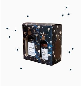 The Gift Label Gift box soap + lotion Believe in happy