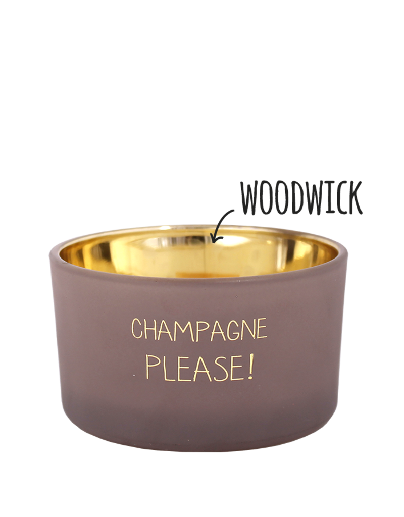 My Flame Lifestyle Geurkaars - 'Champagne please'