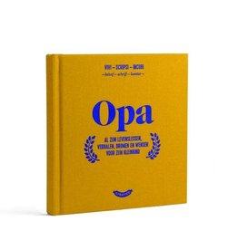 Stratier Boekje 'Opa'