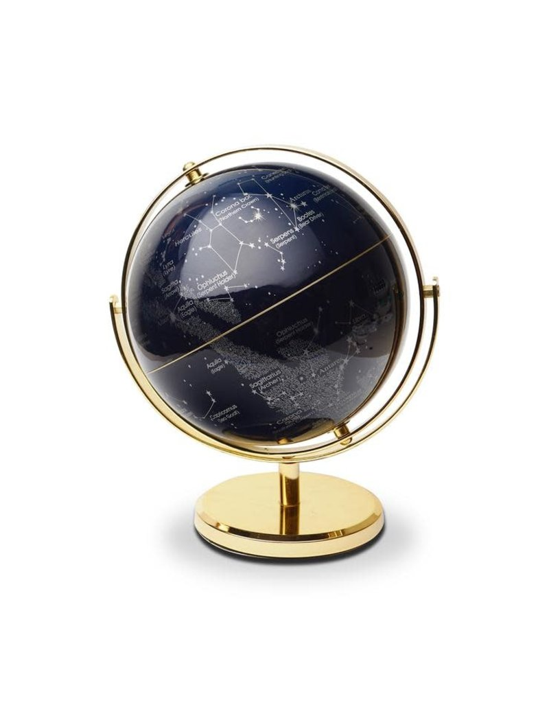 "CORTINA Globe 8"" Swivel Stand, Night Sky"
