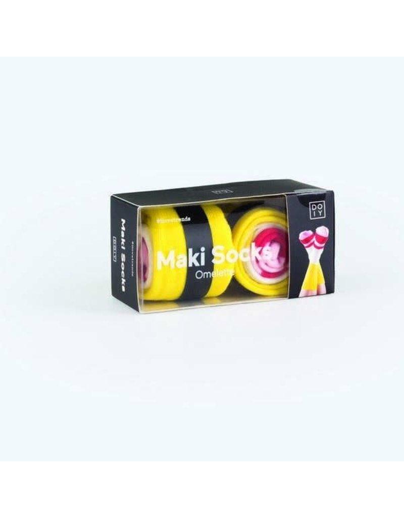 DOIY Maki sokken 'Omelet'