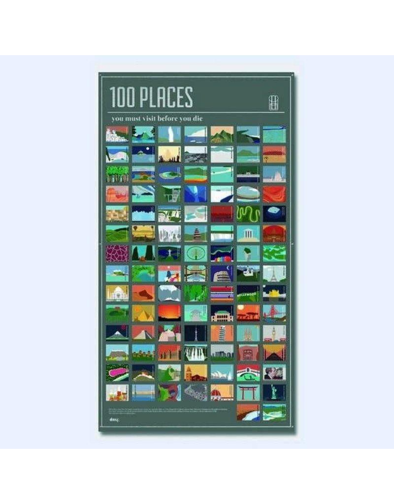 DOIY 100 plaatsen die u in uw leven bezocht moet hebben - Engels