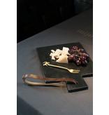 Zusss Broodplank marmer zwart 30 cm
