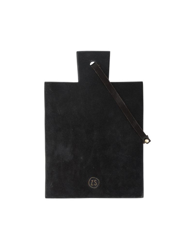 Zusss Plank marmer zwart 30 cm